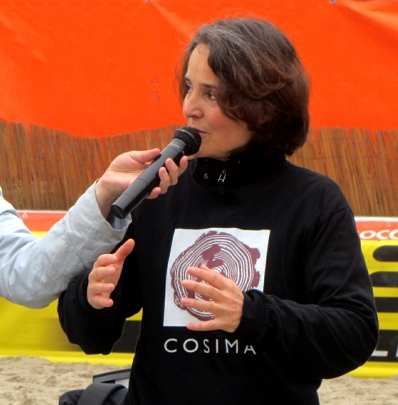 Cosima Scheuten Chi Kung @ Holland Beach Soccer 2013