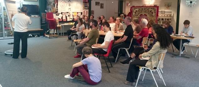 Chi Kung (Qi Gong) Workshop master Lam 2017 in Amsterdam, (Cosima Scheuten - Garden of Chi)