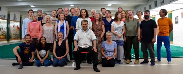 Chi Kung (QI Gong) workshop master Lam 2017 - Garden of Chi - Cosima Scheuten