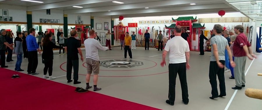 chi kung workshop with master Lam