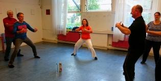 Chi Kung (Qi Gong) les - Cosima Scheuten - www.chikungamsterdam.com