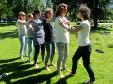 Chi Kung in het park - Cosima Scheuten - www.chikungamsterdam.com
