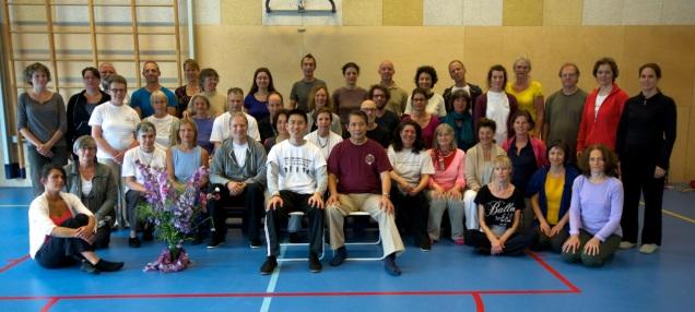 workshop master Lam Kam Chuen en Tin Yu in juni 2014 | www.chikungamsterdam.com | Cosima Scheuten