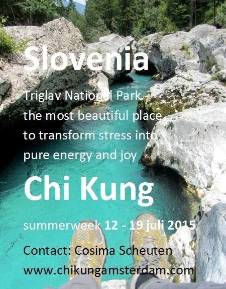 2015 Chi Kung vakantie Slovenia