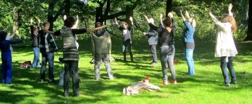 Chi Kung oefeningen zijn zacht en rustig en hebben een groot effect