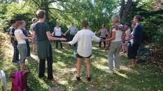 Chi Kung week, Qi Gong, Cosima Scheuten, Garden of Chi